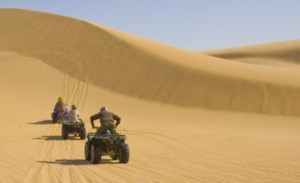 Quad Bike in moroccan desert
