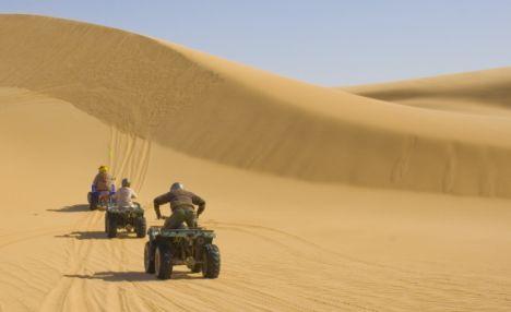 Quad Bike in moroccan desert