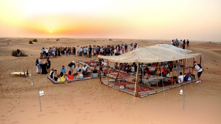 morocco incnetive in the desert camp